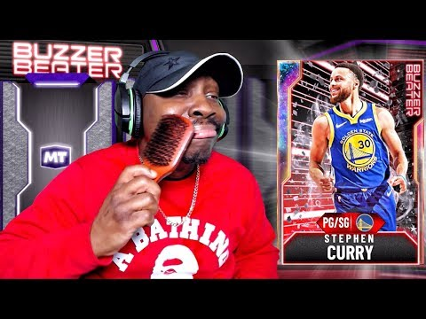 PULLING GALAXY OPAL CURRY in PACK OPENING! NBA 2K20 My Team Buzzer Beater Ep 5