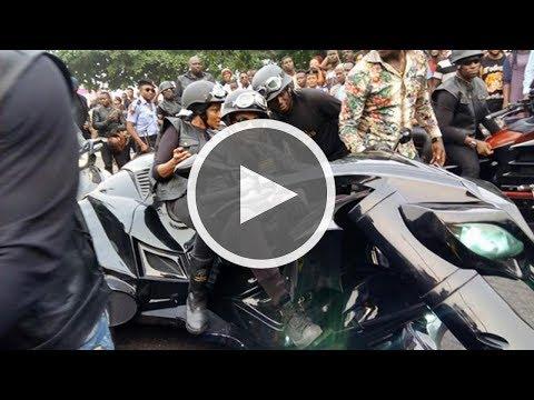 Donald Duke & Wife Cause Stir With Monster Bike At Calabar Bikers Carnival |NVS News