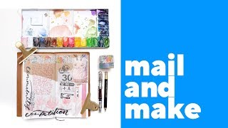 Mail and Make Ep.1 | Journal with Me