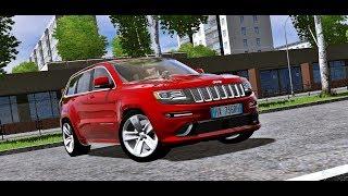 City Car Driving 1.5.5 - Jeep Grand Cherokee SRT-8 6.4 V8   + Download [LINK]   1080p & G27