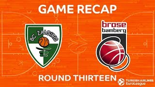 Highlights: Zalgiris Kaunas - Brose Bamberg
