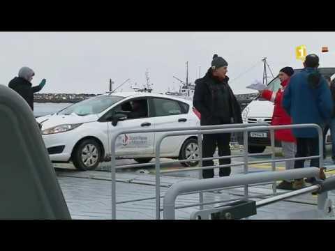 Des tests sur la capacité de chargement du ferry le Suroît