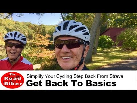Cycling Tips For Beginners | Simplify Cycling  Step Back From Strava Average Speed Stats
