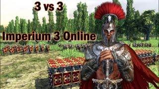 ¡Los iberos mandan! Imperium 3 online 3 vs 3 (Parte 1)