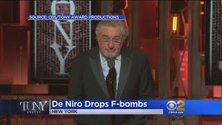 Tony's Big Night And De Niro Drops F-Bombs Against Trump