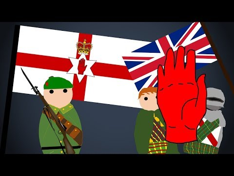 The Northern Irish Flag - The Red Hand of Ulster