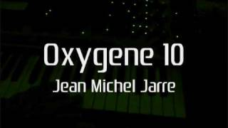 Cover Oxygene 10 Jean Michel Jarre