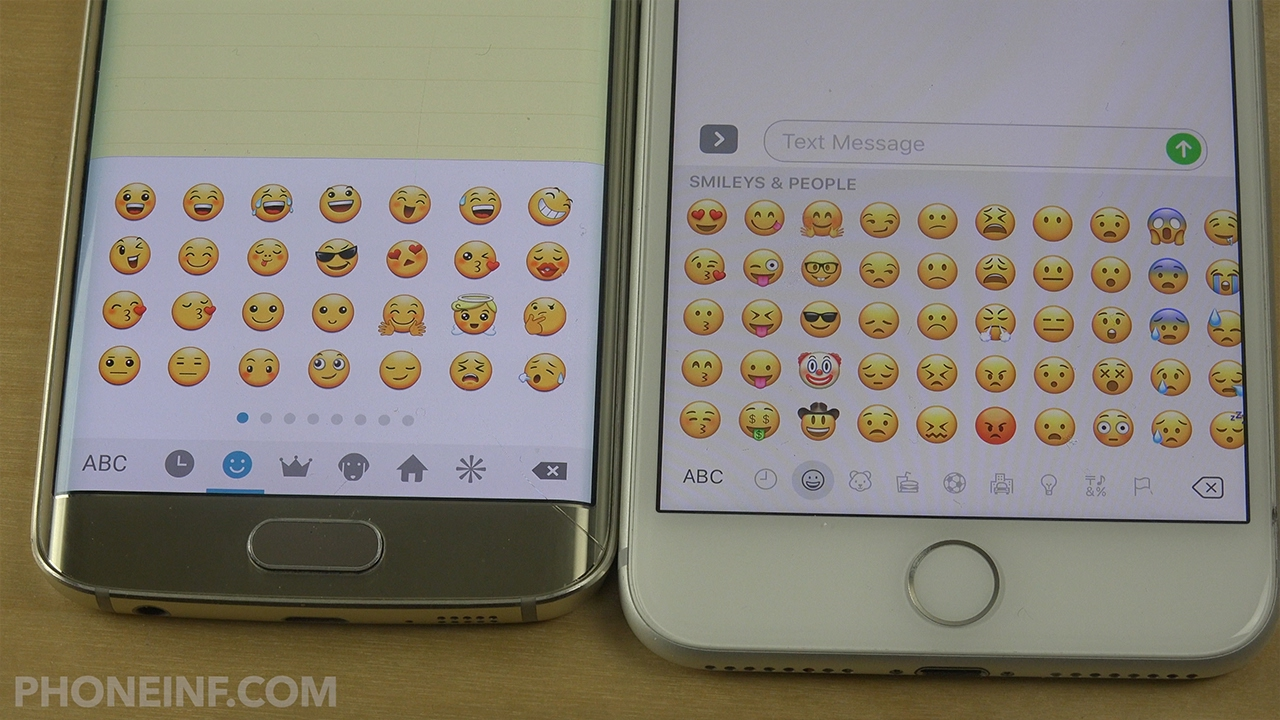 Which Emojis Are Best Samsung Vs Apple Emojis And Smilies
