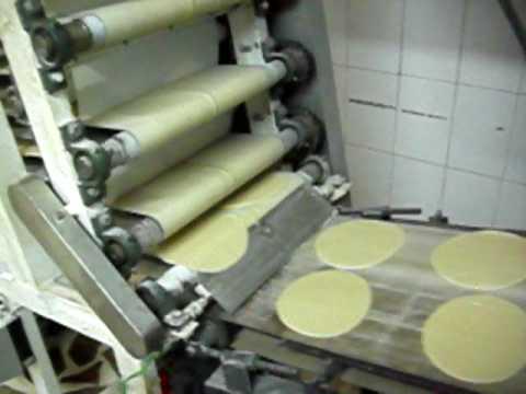 Arabic Bread , Pita Bread, Spiral Dough Divider , خط خبز عربي