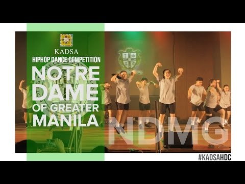 KADSA HDC 2016: NOTRE DAME OF GREATER MANILA