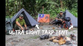 Wild Camping Malaysia - Testing Uttara Ultra Light Tarp Tent