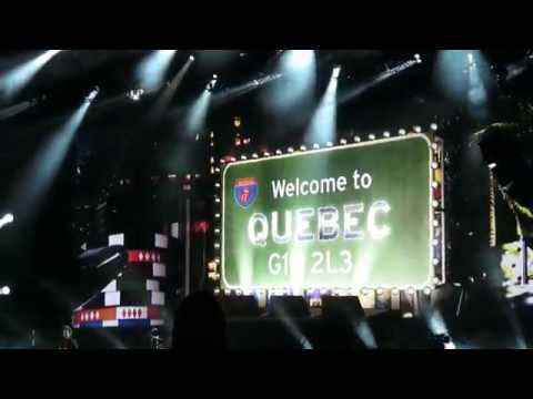 The Rolling Stones - Intro + Start Me Up - Festival d'été de Québec 2015