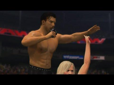 WWE 2K14 Fandango vs Big E Langston - A Look at DLC Pack #2  