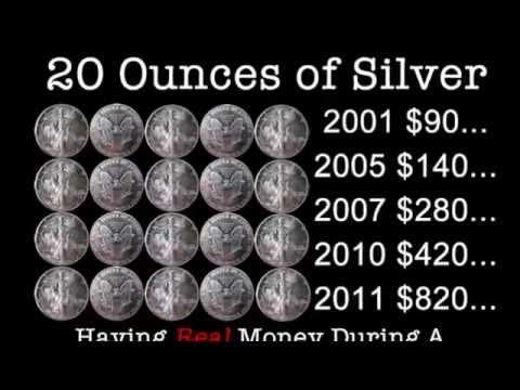Silver - Medium of Exchange = is Money