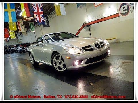 2005 Mercedes Benz Slk350 Amg Sport Edirect Motors Youtube