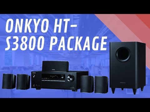 Onkyo HT S3800 Package - Quick Look India