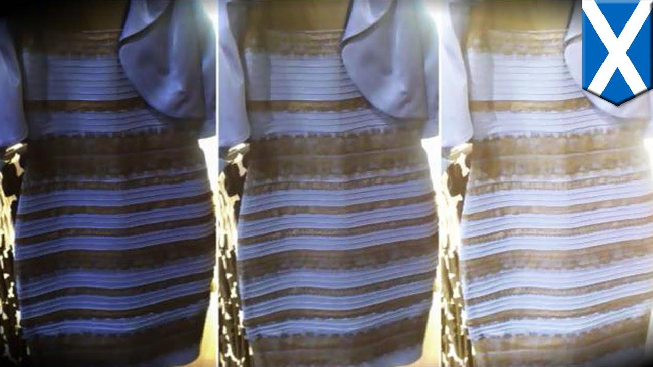 ドレスの色で世界中が大論争に , YouTube