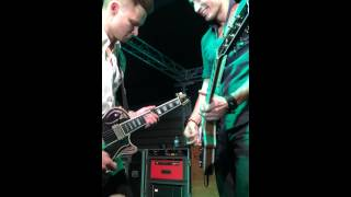 frankie ballard and eddie robinson jamming