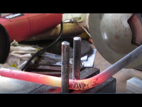 Blacksmithing - Forging A Simple Bending Jig