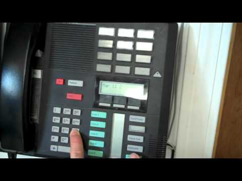 Norstar phone locked up or won't dial
