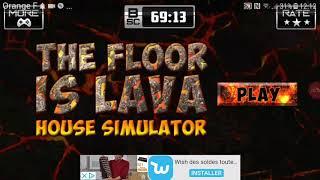 Quelle que bug sur the floor is lava