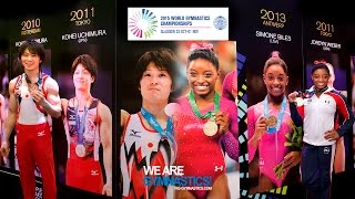 2015 Artistic Worlds - Biles and Uchimura electrify the World  - We are Gymnastics !