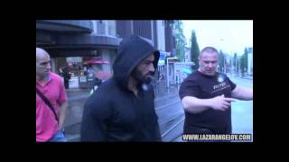 Lazar Angelov in Zurich, Switzerland