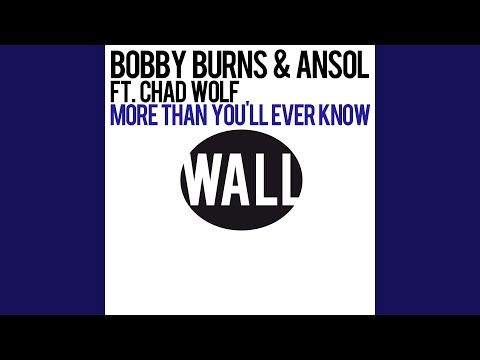 More Than You'll Ever Know (feat. Chad Wolf) (Radio Edit)
