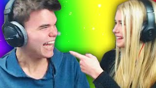 TRY NOT TO LAUGH CHALLENGE WITH MY GIRLFRIEND!