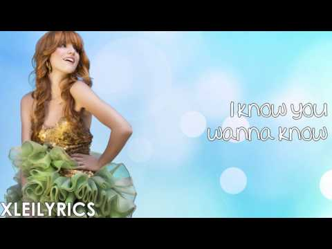 Bella Thorne - Jersey (Lyrics Video) HD