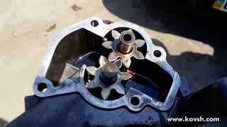 видео Почему воет насос гидроусилителя руля Chevrolet Aveo