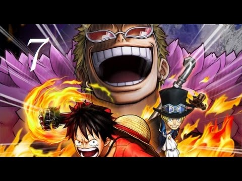 Let's Play One Piece Pirate Warriors 3 #7 Sir Crocodile