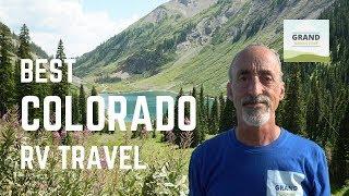 Ep. 133: Best C๐lorado RV Travel | camping hiking mountain biking