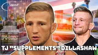 TJ Dillashaw being a juicehead