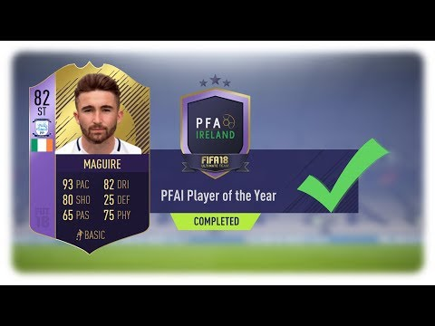 PFAI PLAYER OF THE YEAR / 82-RATED SEAN MAGUIRE (CHEAP+EASY)