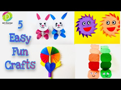 fun-crafts-for-kids- -activities-for-kids-at-home- -things-to-do-with-kids- -diy- -kids-paper-craft