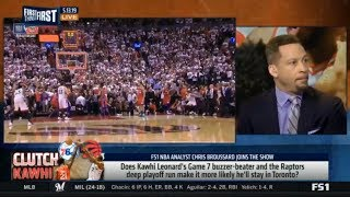 Download Chris Broussard DEBATE: Does Kawhi Leonard's Game 7 buzzer-beater? | FIRST THINGS FIRST Mp3 and Videos