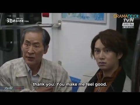 [ENG SUB] Kim Hee Chul- Drama Cut Getting Hit Funny ;-)