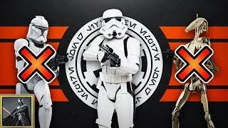 Star Wars: Warum das Imperium weder Klone noch Kampfdroiden nutzte