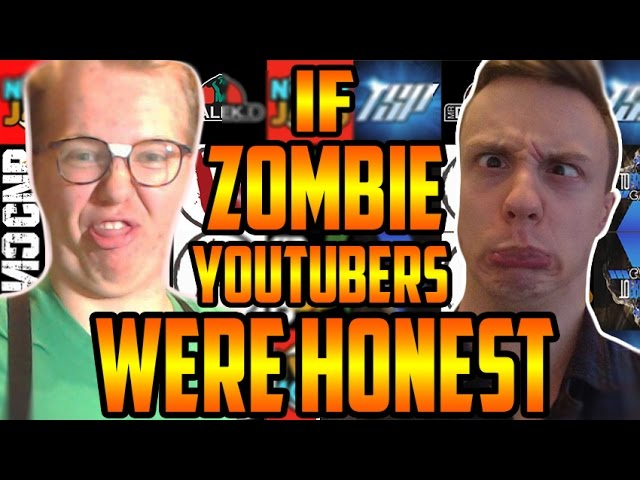 IF CALL OF DUTY ZOMBIES YOUTUBERS WERE HONEST