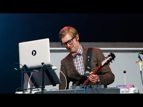 Public Service Broadcasting - Theme From PSB at Glastonbury 2014
