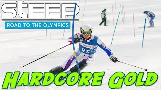 The Hardest Olympic Events On Steep!! Getting Gold!!