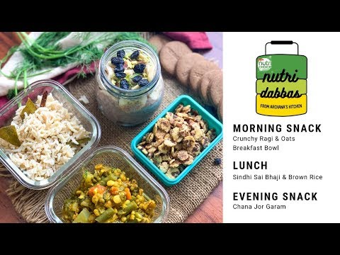 healthy-office-lunch-box-recipes---episode-7---nutri-dabba-by-archana's-kitchen