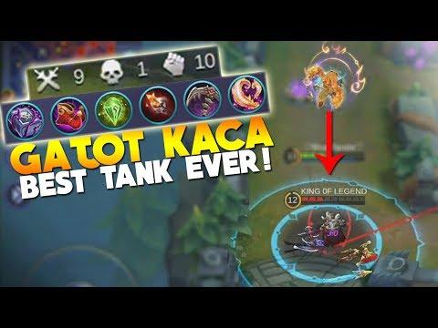 FULL Magic DMG Build on Gatot Kaca in Ranked! Mobile Legends New Hero Gameplay