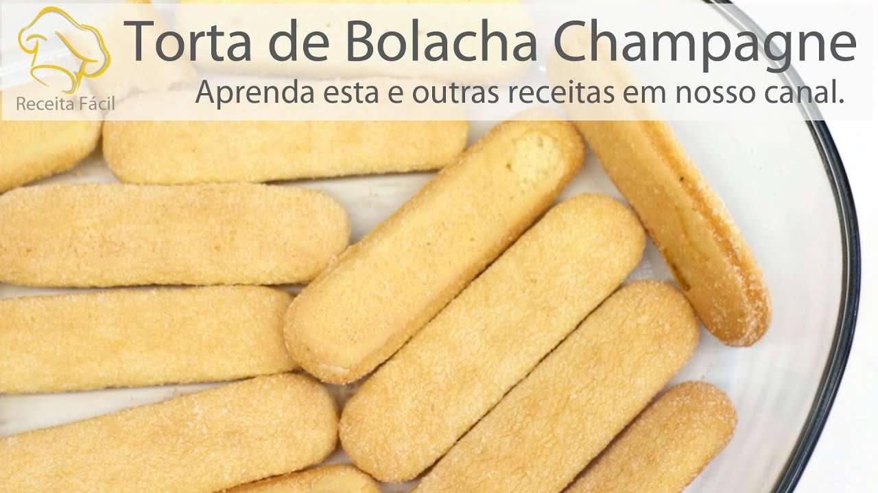 Amado Creme Champagne (Como faz Torta de Bolacha Champagne?) - Receita  SO08