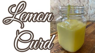 Lemon Curd  tui si awlsam si  simple cooking  homemade  (Mizo English sub)