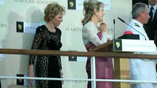 Seabourn Sojourn Naming Ceremony