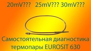 Diagnostika avtomatlashtirish thermocouple EUROSIT 630(630 eurosit). Olg'a surdi isitish qozonlari yoki qozon emas.
