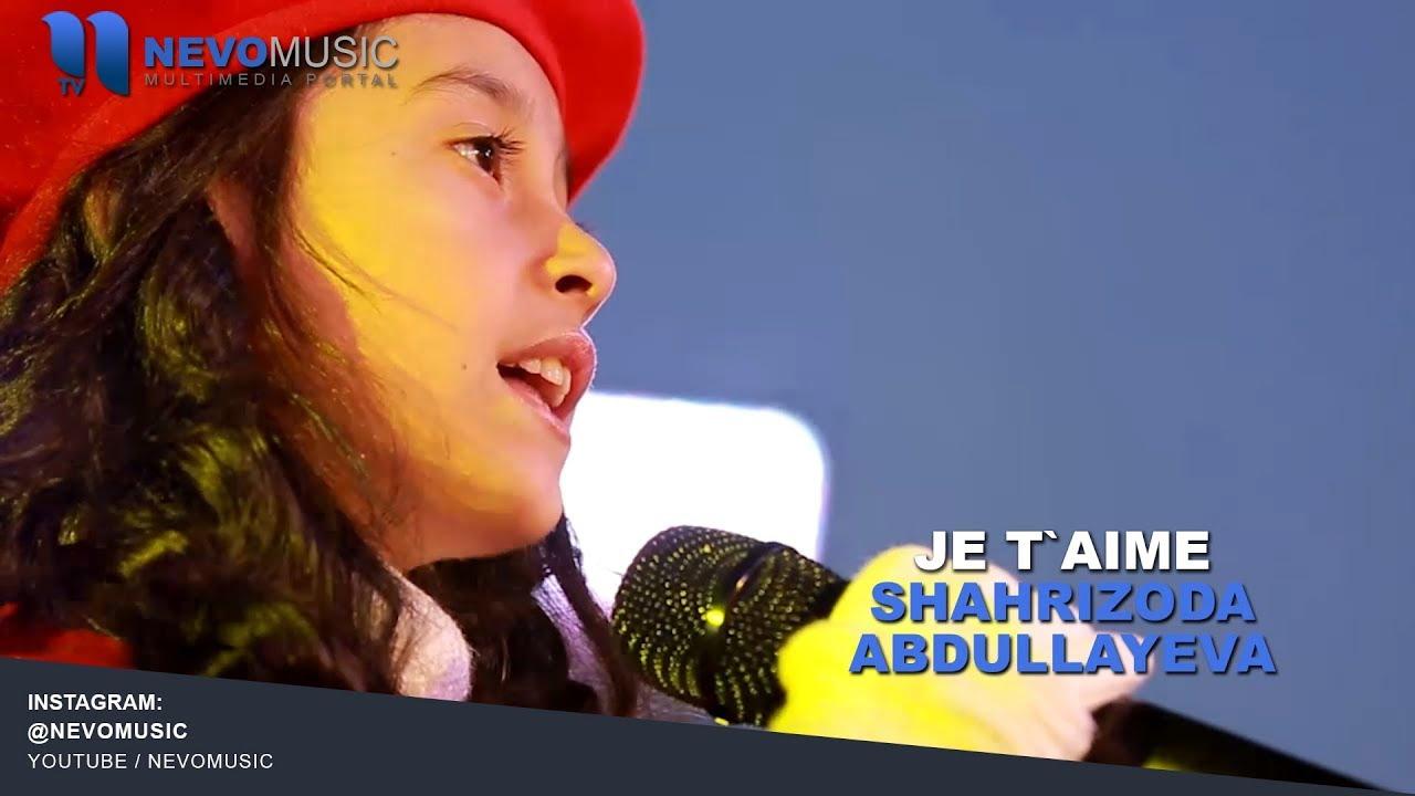 Shahrizoda Abdullayeva - Je t'aime (Zamin Shou 2018)