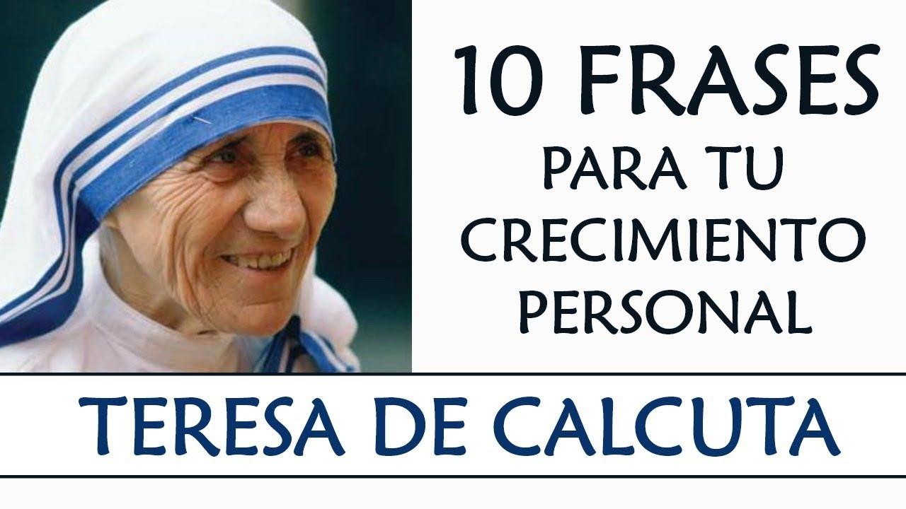10 Frases De La Madre Teresa De Calcuta Imprescindibles En Tu
